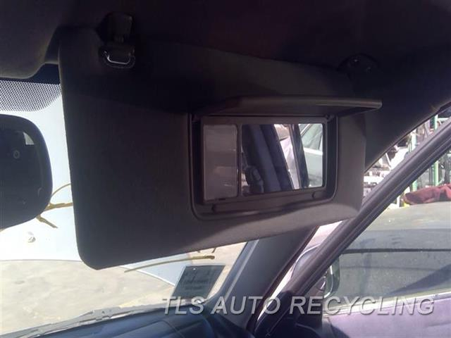 2005 Lexus Is 300 Sun Visor/shade  RH,GRY,(ILLUMINATED), R.