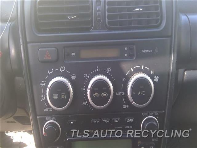 2005 Lexus Is 300 Temp Control Unit  BLK,US MARKET
