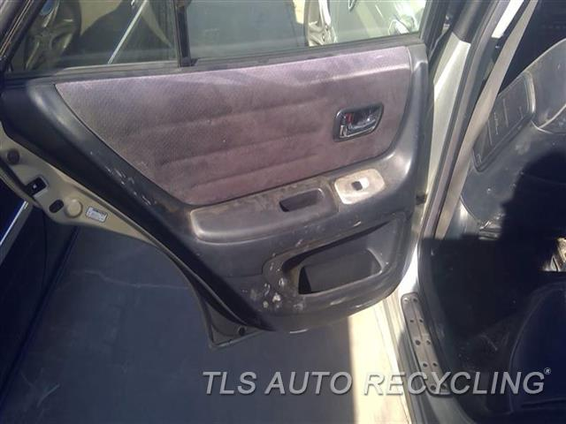2005 Lexus Is 300 Trim Panel, Rr Dr  LH,BLK,LEA,SUEDE,SW