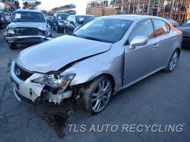 Parting Out 2006 Lexus IS 350 - Stock - 5258BK - TLS Auto Recycling