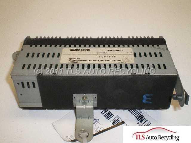 1992 Lexus Ls 400 Radio Audio / Amp  86280-50010 PIONEER AMPLIFIRE