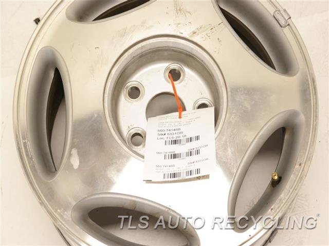 1999 Lexus Ls 400 Wheel MINOR SCRATCHES 16X7 ALLOY 5 SPOKE WHEEL