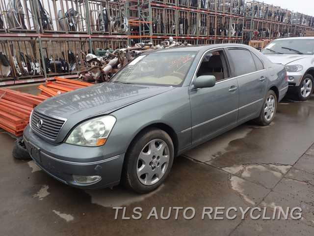 parting out 2002 lexus ls 430 stock 6036br tls auto recycling. Black Bedroom Furniture Sets. Home Design Ideas