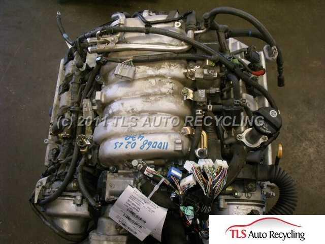 2002 Lexus Ls 430 Engine Assembly