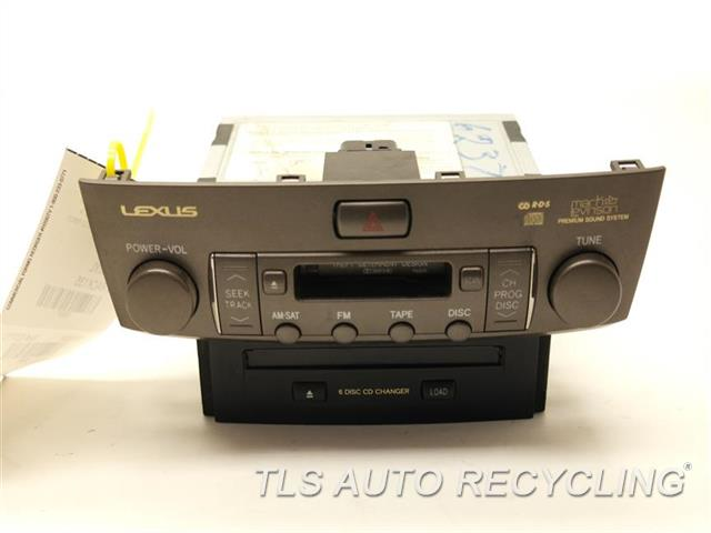 2004 Lexus Ls 430 Radio Audio    Amp - 86120-50b90