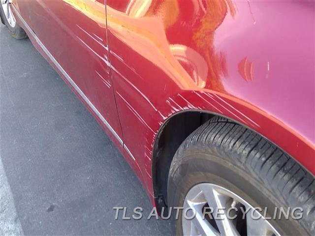 2010 Lexus Ls 460 Fender DEEP SCUFF 5S3,RH,RED