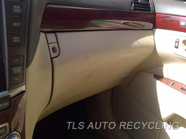 2010 Lexus Ls 460 Glove Box  TAN
