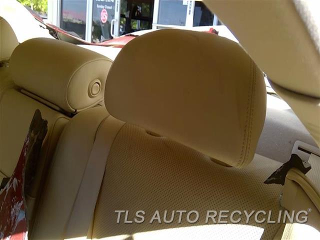 2010 Lexus Ls 460 Headrest  TAN,LEA,REAR,OUTER