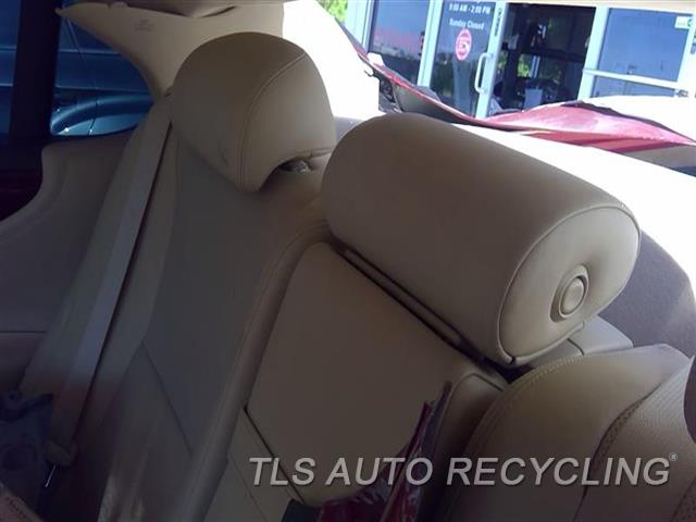 2010 Lexus Ls 460 Headrest  TAN,LEA,REAR,CENTER