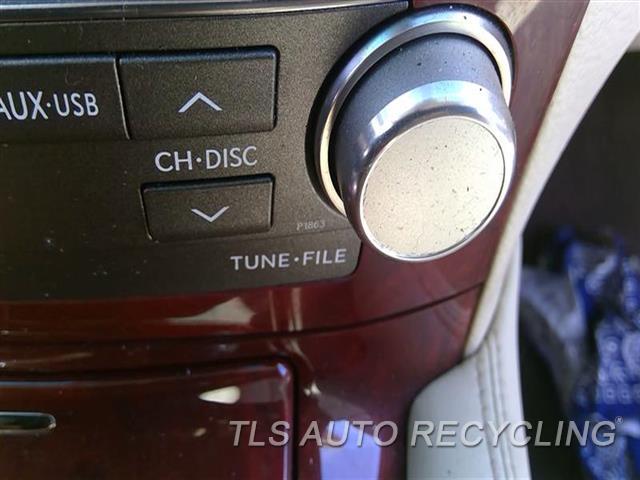 2010 Lexus Ls 460 Radio Audio / Amp  RECEIVER, (PIONEER AUDIO SYSTEM), I
