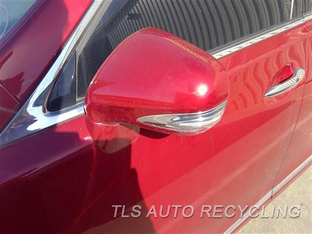 2010 Lexus Ls 460 Side View Mirror  LH,RED,POWER, L.