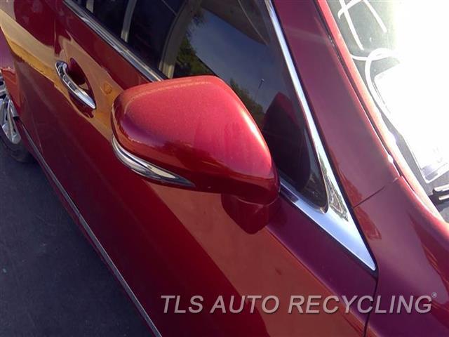 2010 Lexus Ls 460 Side View Mirror  RH,RED,POWER, R.
