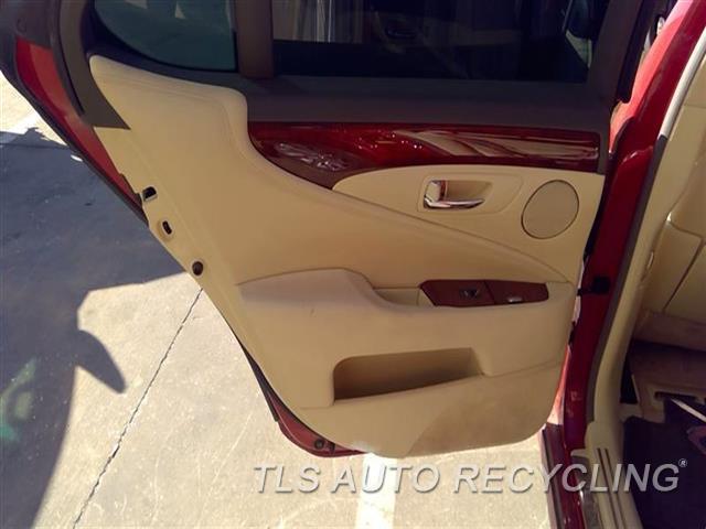 2010 Lexus Ls 460 Trim Panel, Rr Dr  LH,TAN,LEA