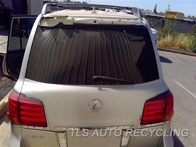 2010 Lexus Lx 570 Deck Lid  000,SLV,UPPER, (HEATED WITH WIPER)