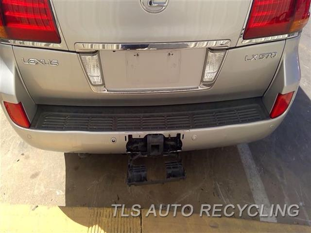 2010 Lexus Lx 570 Deck Lid  000,SLV,LOWER
