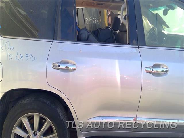 2010 Lexus Lx 570 Door Assembly, Rear Side  000,RH,SLV