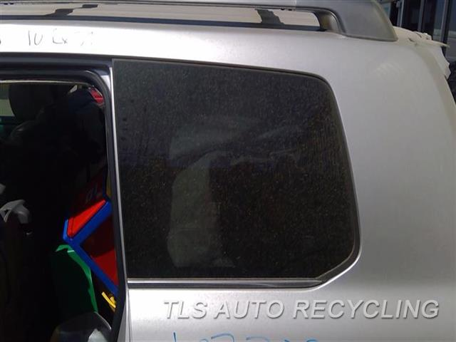 2010 Lexus Lx 570 Quarter Glass  LH