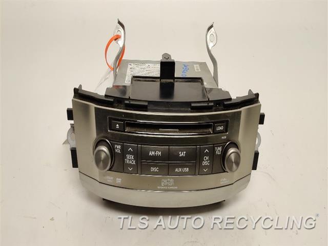 2010 Lexus Lx 570 Radio Audio / Amp  RECEIVER, 8612060G10, P6520 FACE ID