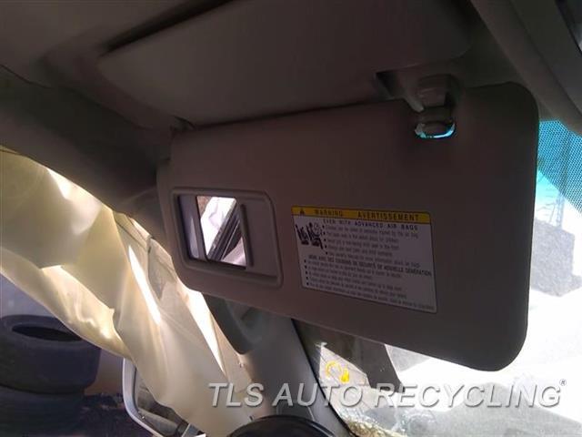 2010 Lexus Lx 570 Sun Visor/shade  LH,GRY,(ILLUMINATED), L., PRIMARY