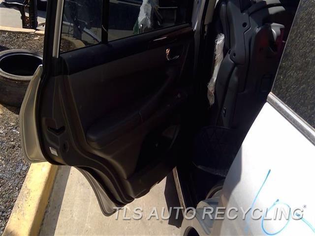2010 Lexus Lx 570 Trim Panel, Rr Dr  LH,GRY,LEA