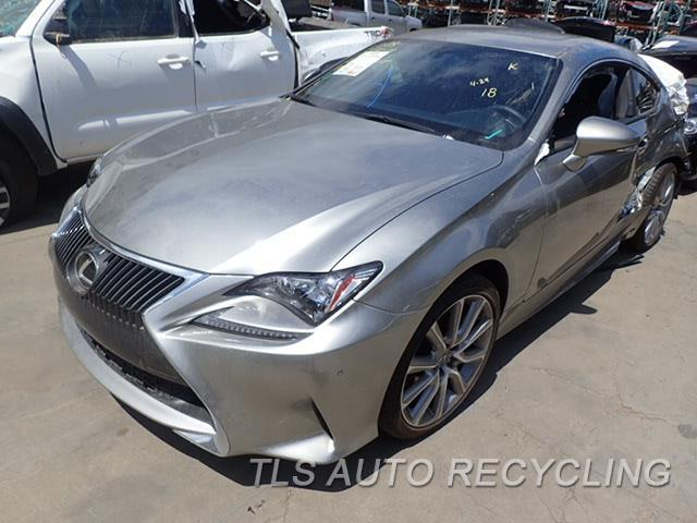 2015 Lexus RC350 Parts Stock# 8237BL