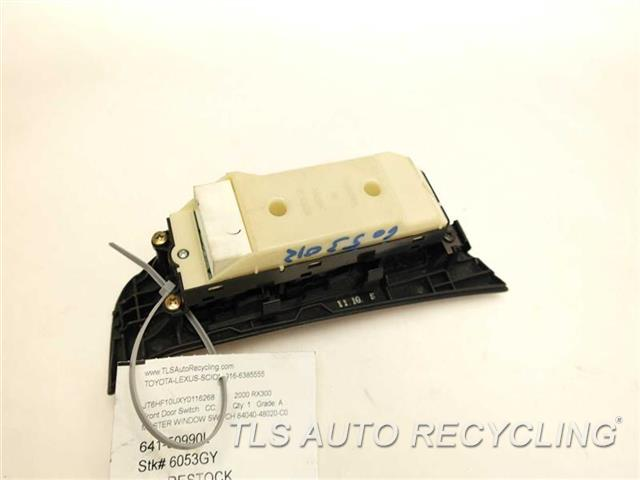 2000 lexus rx 300 door elec switch 84040 48020 c0 used for 2000 lexus rx300 master window switch