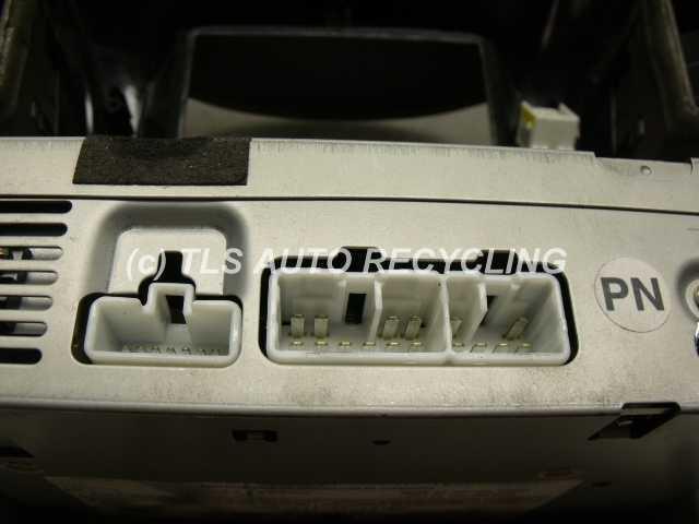 2001 lexus rx 300 radio audio amp 86120 4805000 used. Black Bedroom Furniture Sets. Home Design Ideas