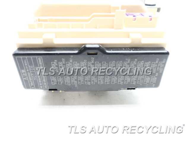 Fuse Box For Lexu Rx 330