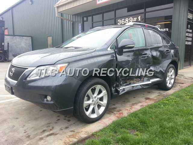 lexus_rx350_2010_car_for_parts_only_141600_01 parting out 2010 lexus rx 350 stock 4030rd tls auto recycling 2017 Lexus RX 350 at fashall.co