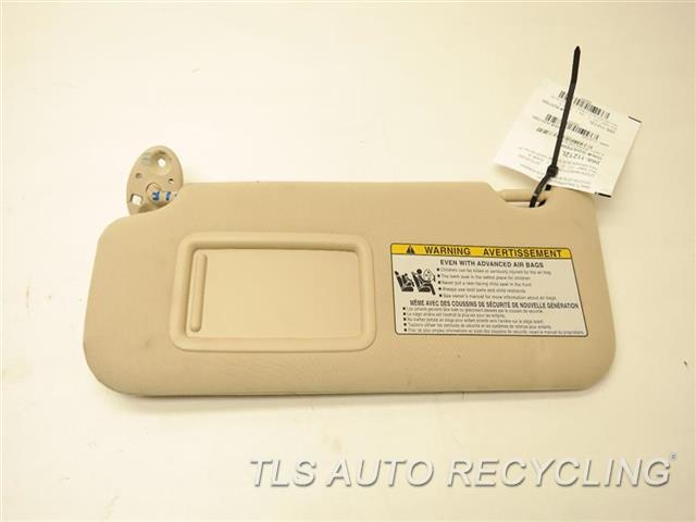 2013 lexus rx 350 sun visor shade 74320 0e120 a0 used. Black Bedroom Furniture Sets. Home Design Ideas