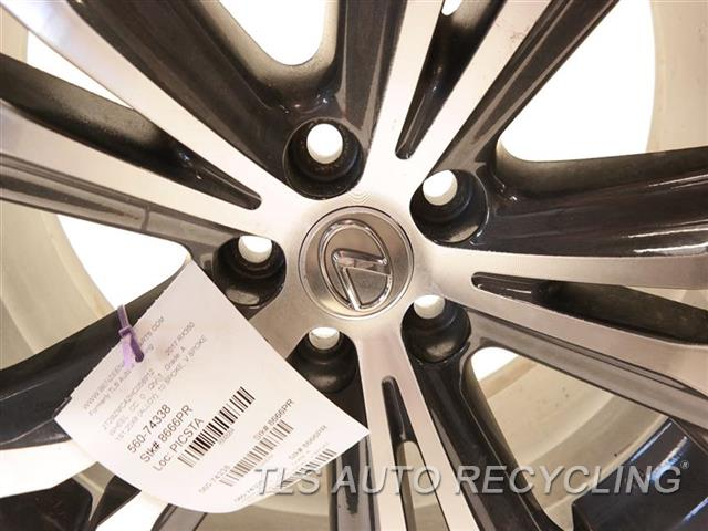 2017 Lexus Rx 350 Wheel MINOR SCRATCHES 1S1,20X8 (ALLOY), 10 SPOKE, V SPOKE