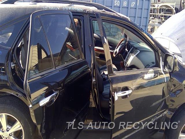 2008 Lexus Rx 400 Center Pillar Cut  RH,BLK