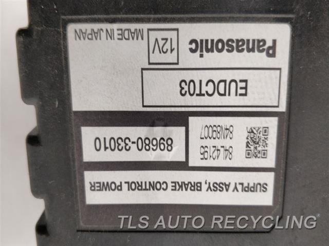 2008 Lexus Rx 400 Chassis Cont Mod  89680-33010 BRAKE CONTROL POWER