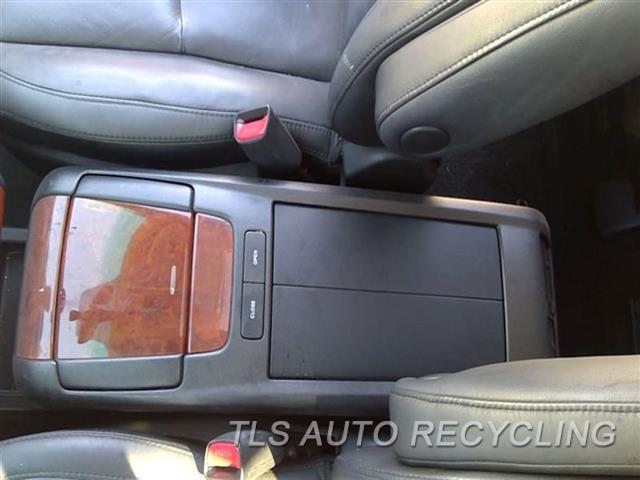 2008 Lexus Rx 400 Console Front And Rear  BLK,FLOOR, STEERING WHEEL AUDIO SWI