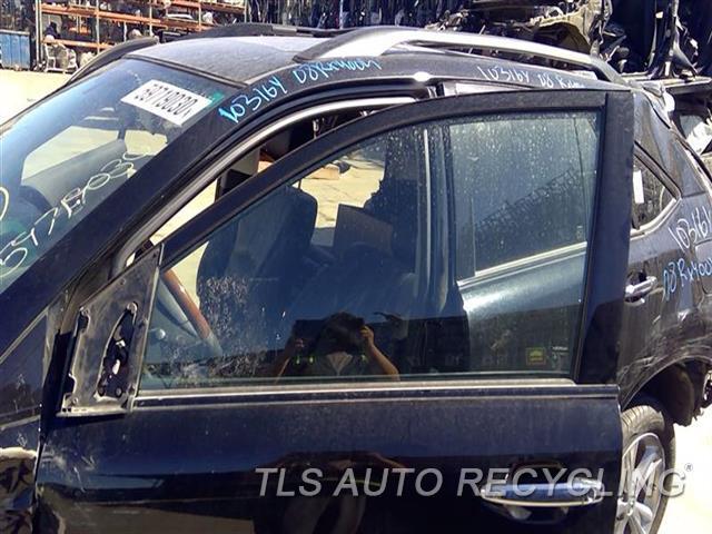 2008 Lexus Rx 400 Door Glass, Front  LH