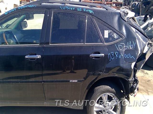 2008 Lexus Rx 400 Door Assembly, Rear Side SCRATCHES 4S1,LH,BLK