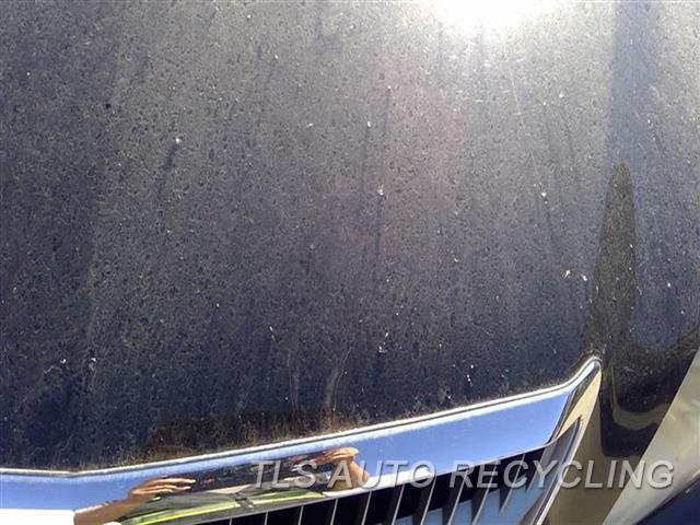 2008 Lexus Rx 400 Hood ROCK CHIPS FRONT SECTION 2T1,BLK,W/GRILLE