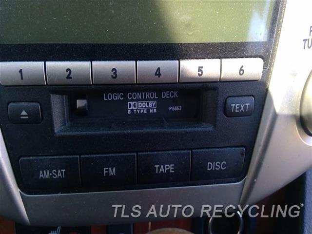 2008 Lexus Rx 400 Radio Audio / Amp   RECEIVER, (PIONEER WITH 6 CD), CAS