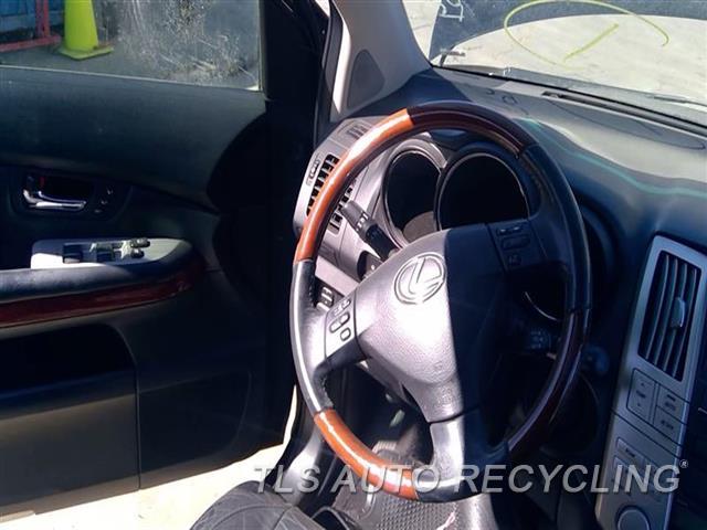 2008 Lexus Rx 400 Steering Wheel WEAR BLK,LEA,WOOD