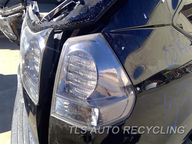 2008 Lexus Rx 400 Tail Lamp  RH,QUARTER PANEL MOUNTED, R.