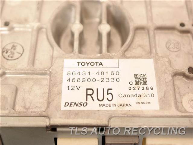 2011 Lexus Rx 450h Chassis Cont Mod (HARD DRIVE) 86431-48160 NAVIGATION COMPUTER