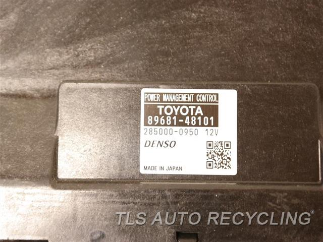 2011 Lexus Rx 450h Chassis Cont Mod  89681-48101 POWER MANAGEMENT COMP.