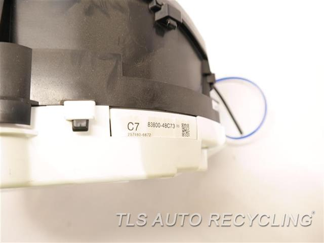 2011 Lexus Rx 450h Speedo Head/cluster  (CLUSTER), MPH, FWD 8380048C73
