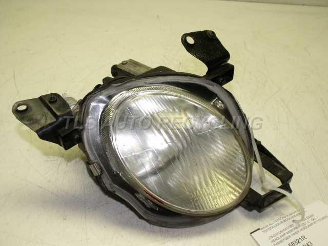 1992 Lexus Sc 300 Headlamp Assembly  PASSENGER INNER HEADLAMP 81110-24052