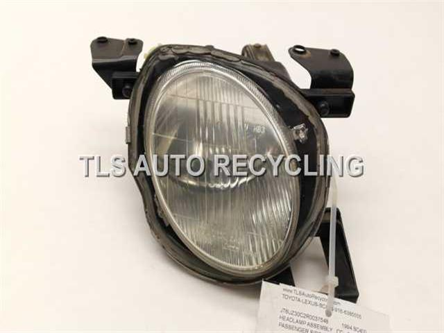 1994 Lexus Sc 400 Headlamp Assembly