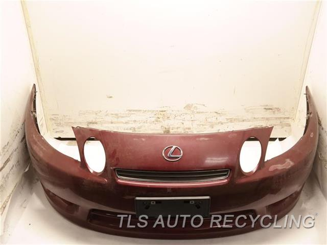 1997 Lexus Sc 400 Bumper Cover Front CLEAR COAT, SCUFFS ON BOTTOM 4T3,RED FRONT BIMPER