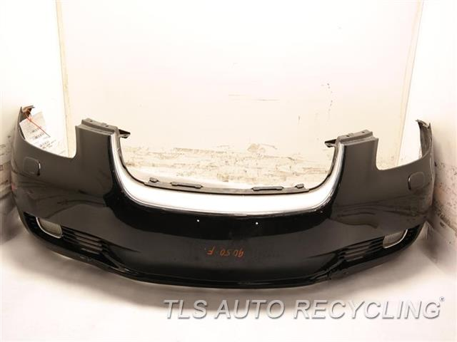 2002 Lexus Sc 430 Bumper Cover Front W/ FOG LAMP, PAINT PEELING, HAS SCUFFS ON THE LOWER SECTION BLACK FRONT BUMPER COVER