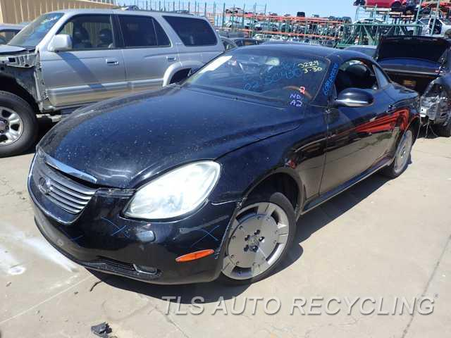 parting out 2002 lexus sc 430 stock 6089gy tls auto. Black Bedroom Furniture Sets. Home Design Ideas