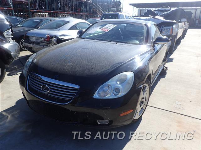 parting out 2002 lexus sc 430 stock 7040br tls auto. Black Bedroom Furniture Sets. Home Design Ideas