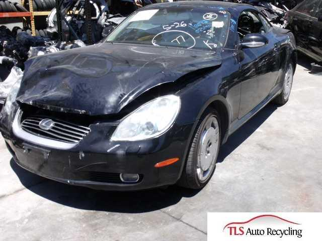 2002 lexus sc 430 black tan interior at v8 hit used. Black Bedroom Furniture Sets. Home Design Ideas
